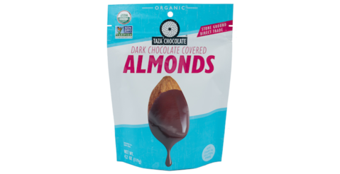 Taza Chocolate Dark Chocolate Almonds