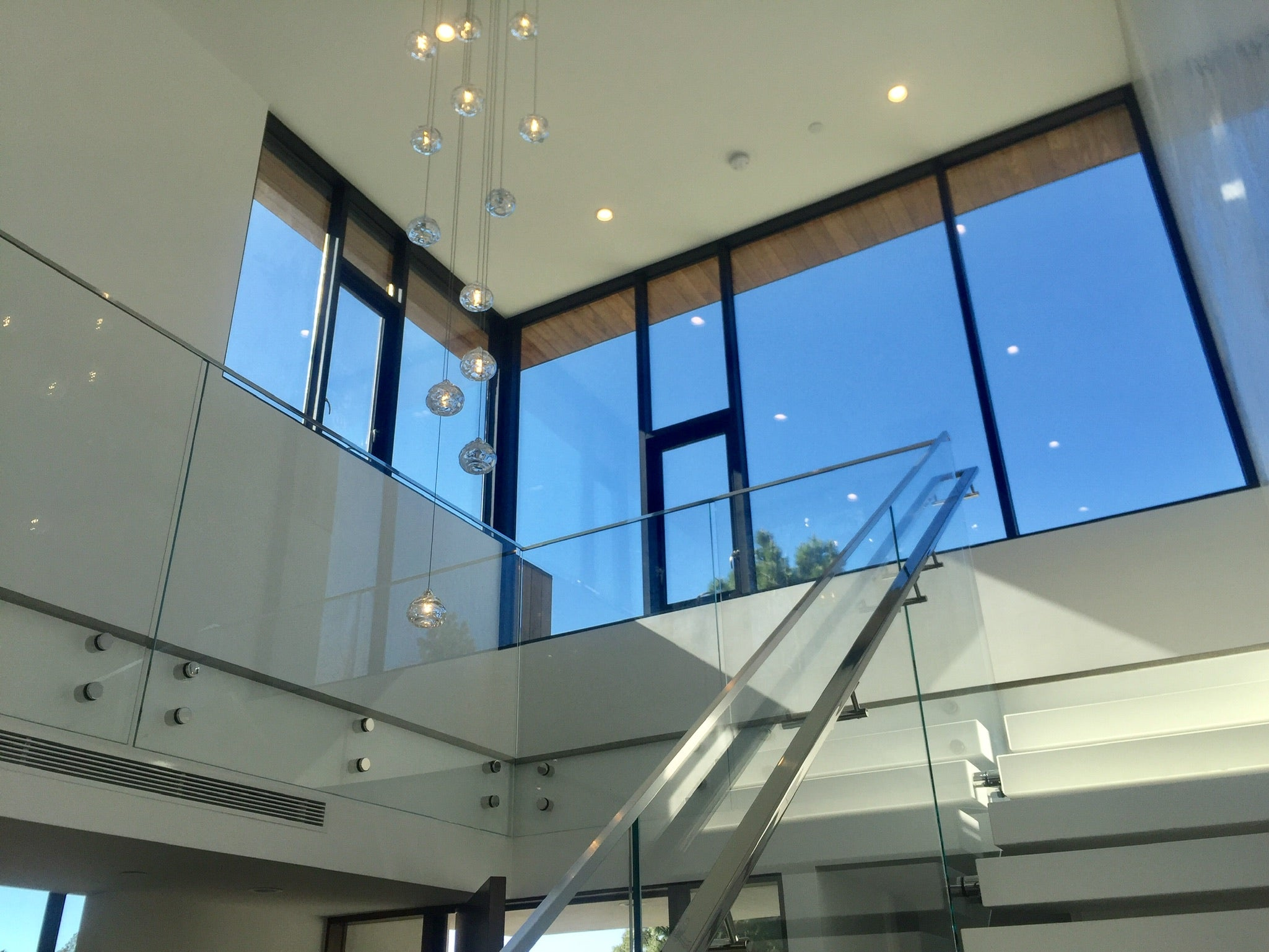 glass framing and windows
