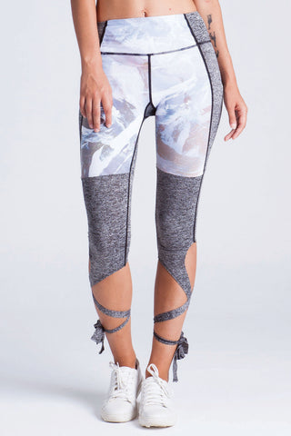 Snow Petal Dancers Leggings