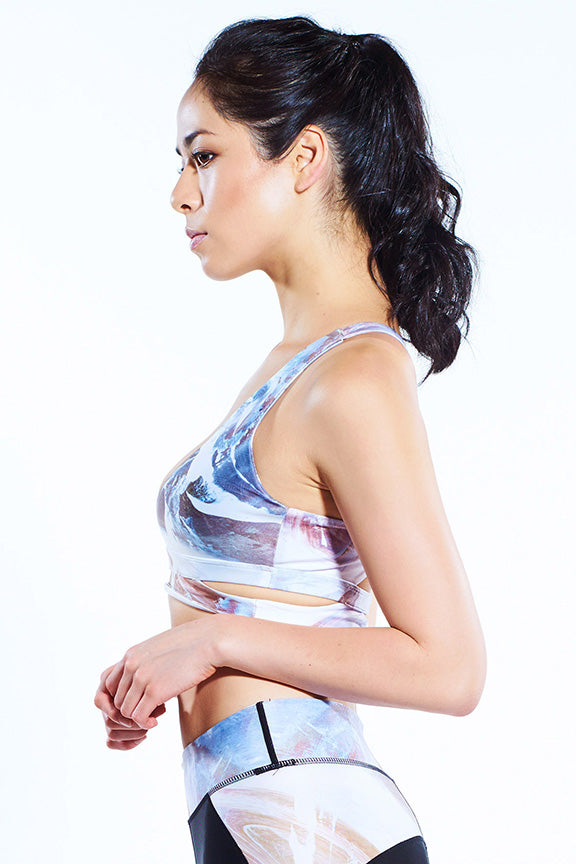 Sports Bra - Miss Runner - Printed sportwear - workout