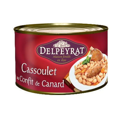 Cassoulet of duck confit 1500g