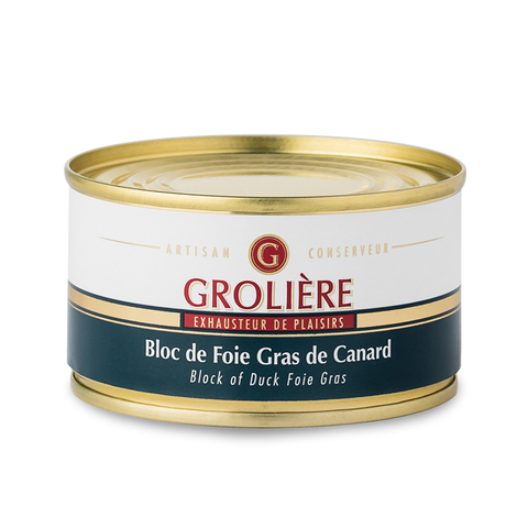 Bloc of duck foie gras 130g