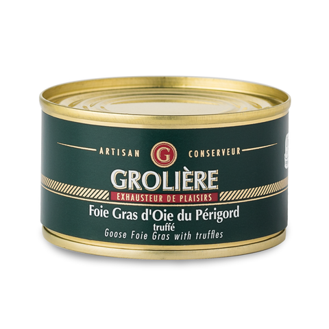 Whole GOOSE Foie Gras with Truffles from South West of France (Perigord) 130g