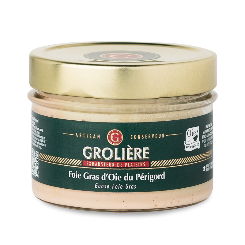 Whole GOOSE Foie Gras from South West of France (Perigord) 180g AWARD WINNER