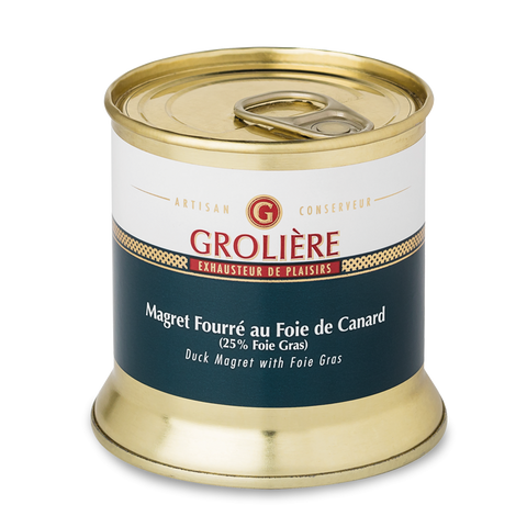 Duck Magret with Foie Gras (25%) - 190g