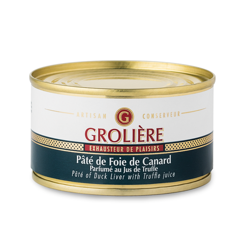 Paté of Duck Liver with Truffle Juice 130g - 50% Foie Gras