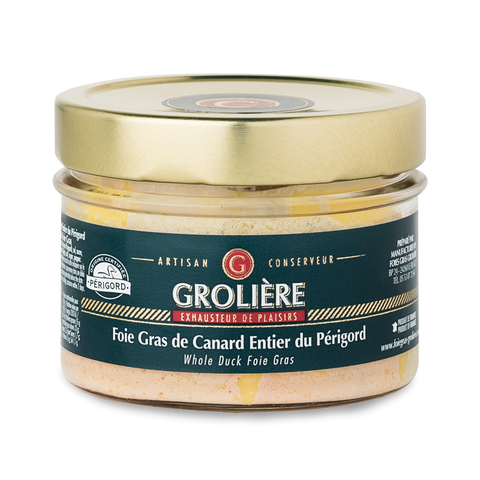Whole DUCK Foie Gras from South West of France (Perigord) 180g AWARD WINNER