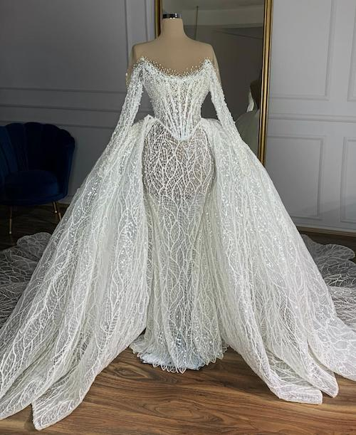 Wedding gown in South Africa
