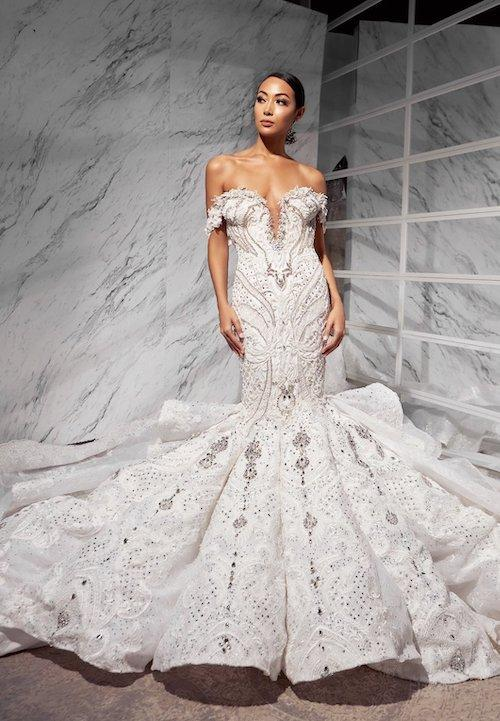 Wedding Gown in Liberia