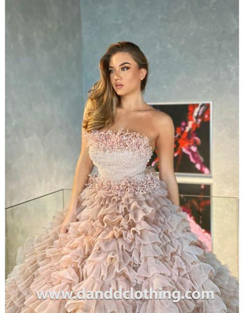 wedding gown in Morrocco