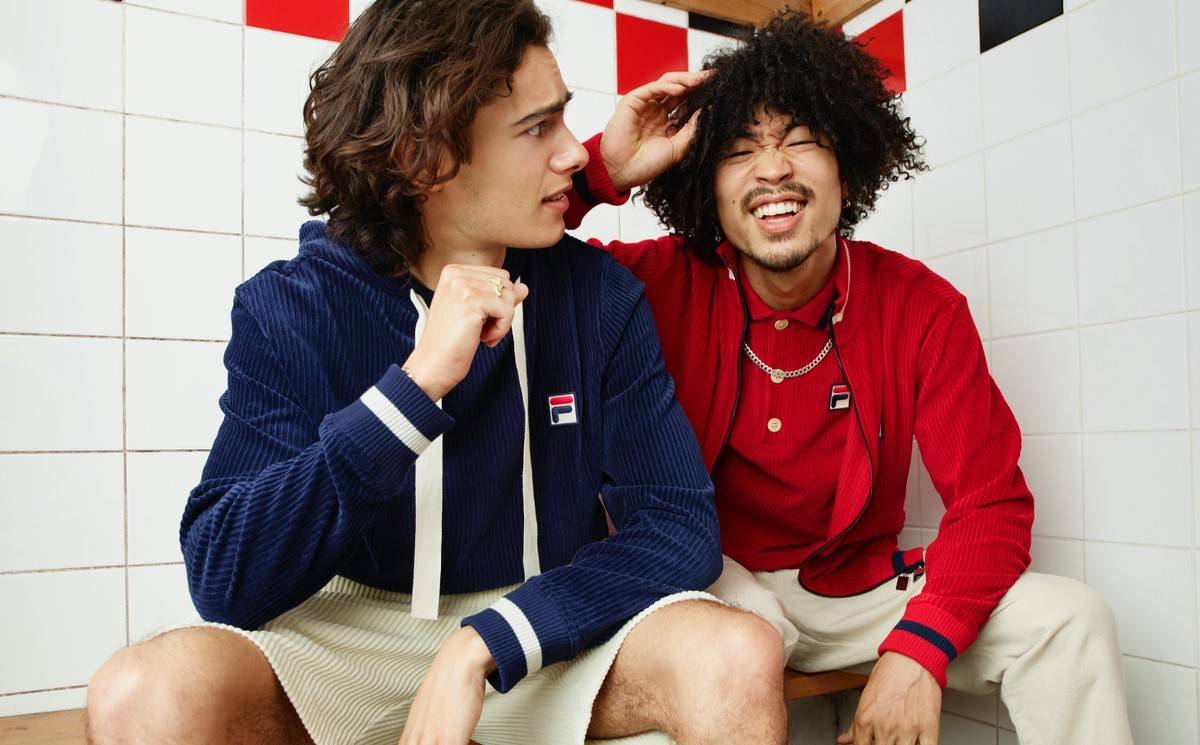 Fila Partners With Oliver Spencer On A Sustainable Collection1