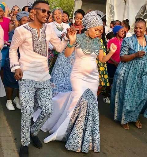 South African Traditional Wedding Styles 1
