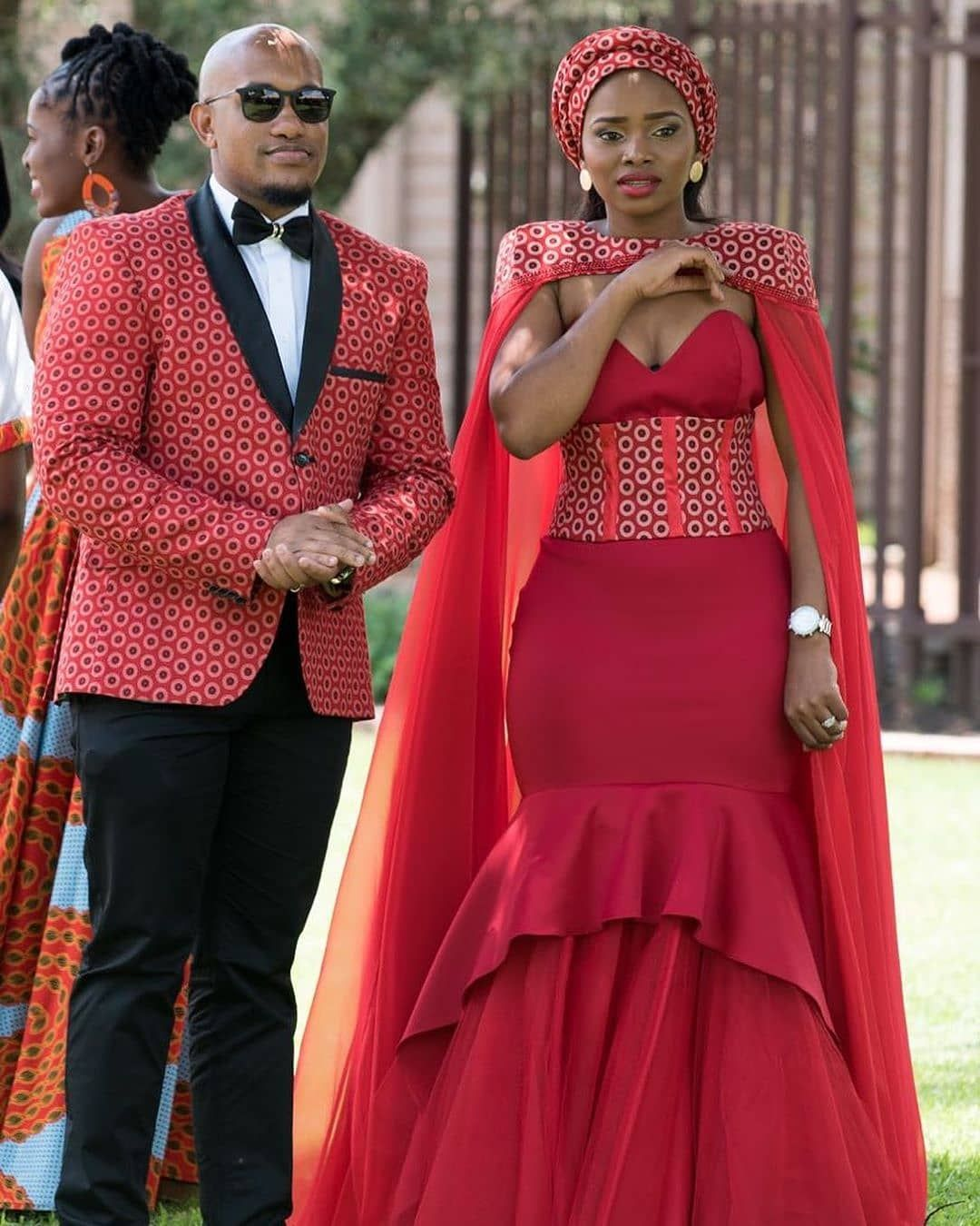 South African Traditional Wedding Styles 2