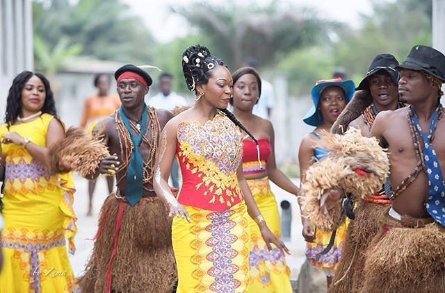 Traditional Wedding Styles In Central African Republic1