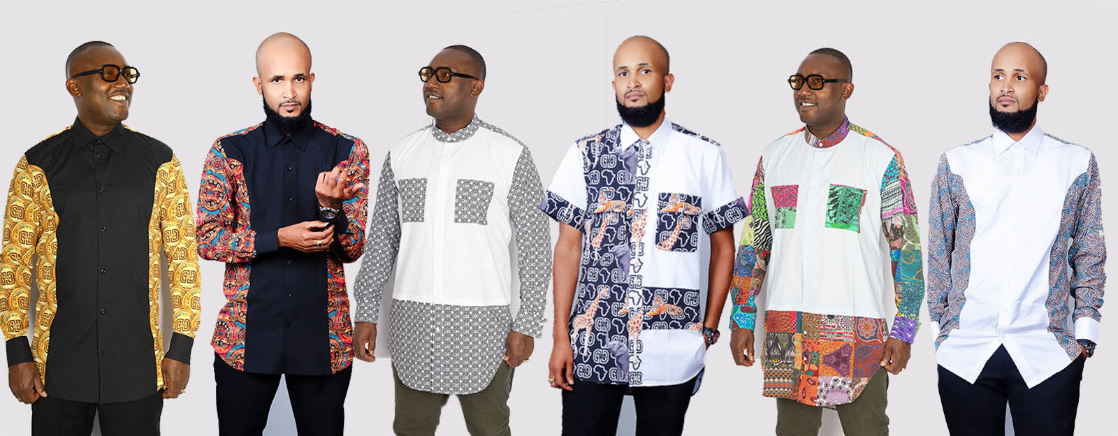 Men's African Shirts | Casual and Formal Shirts | NE