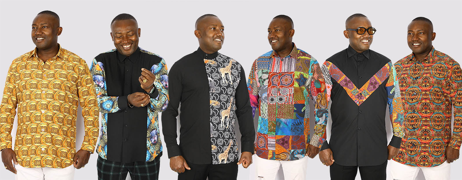 Discover the most up-to-date men's shirts | KY | Stylish African Shirts for Men