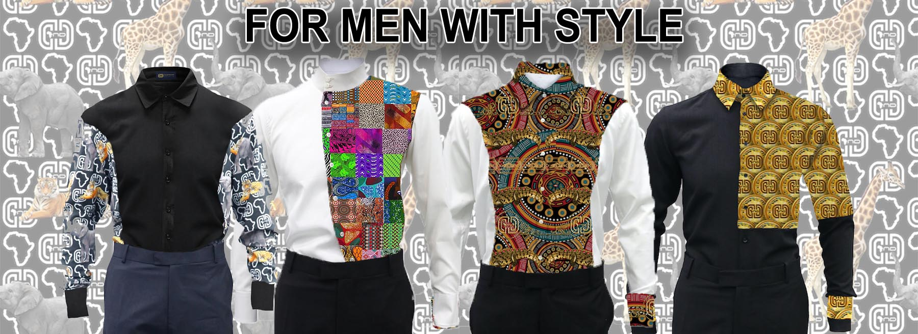 Shirts for Casual and Formal Wear   Men's African Shirts   OR