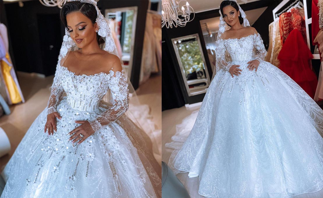 Custom Made wedding gown in Freetown