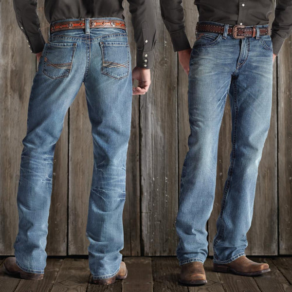 e870a4fca214 ARIAT FR M4 LOW RISE BOOT CUT JEANS – Dry Canyon FR