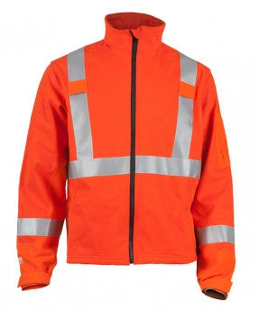 DRAGON SHIELD™ FR SOFT SHELL HI-VIS JACKET - Dry Canyon FR