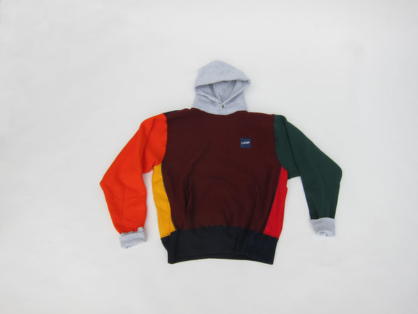 MULTI-COLOR SIGNATURE SNAP HOODIE