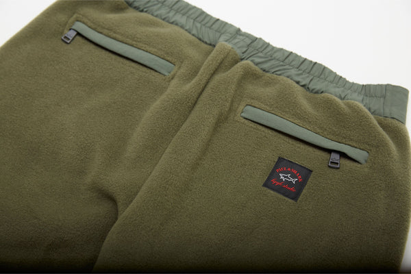 Fleece Pants with Reflective logo