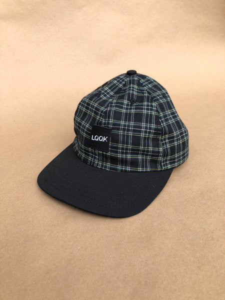 Plaid LQQK logo cap