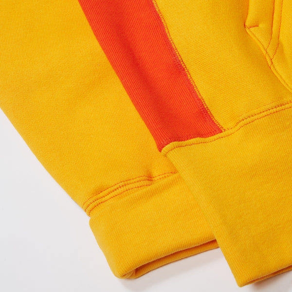 GOLDEN YELLOW/ ORANGE SIGNATURE SNAP HOODIE
