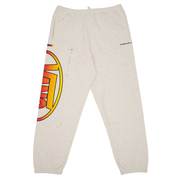 ASH GREY SWEATPANTS- VANS x LQQK