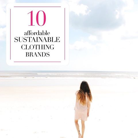 10 affordable sustainable clothing brands