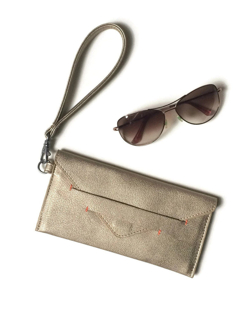 Gold Wristlet by Canopy Verde