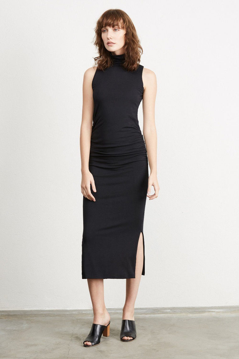 Taylor modal dress in black by amour vert