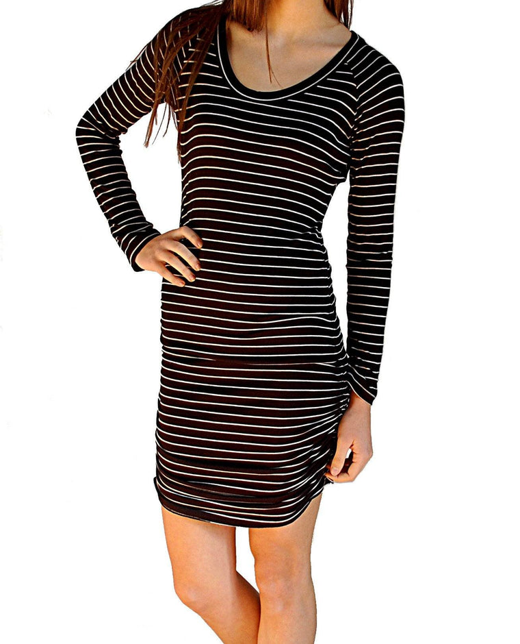 Gabriella Dress Oslo Stripe