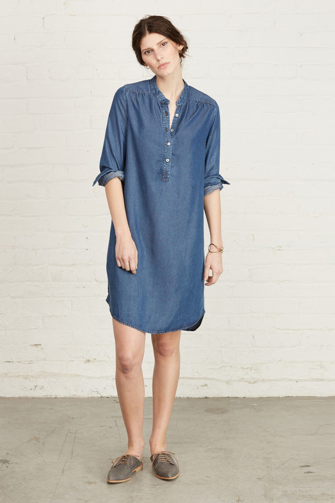 Kari Dark Wash Dress