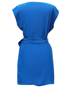 Orchidee Belted Dress - Green Orchyd