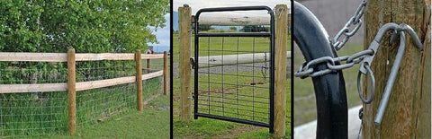 field fencing and gates for alpacas
