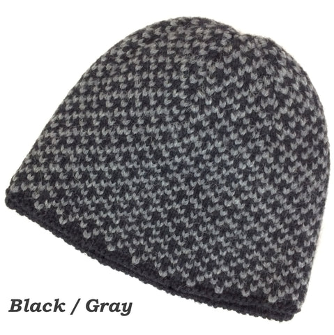 Winter Sport Lined Alpaca Beanie - Alpacas of Montana