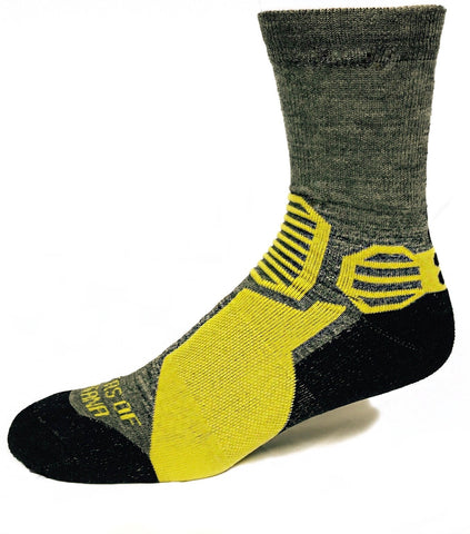 Mountain Crew Alpaca Hiking Socks - Wicking, Soft, Durable- 3 Colors - Alpacas of Montana