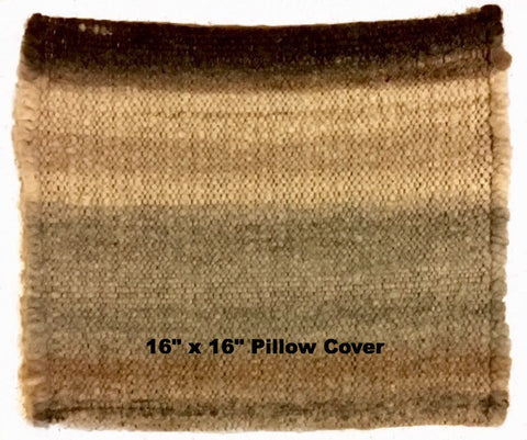 Hand Woven All Natural Alpaca Pillow Covers & Placemat - Alpacas of Montana