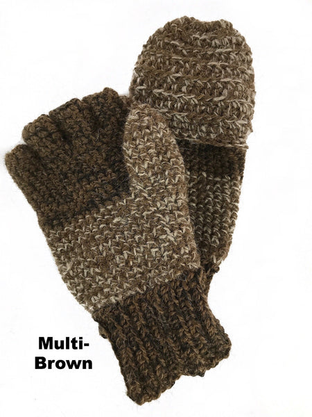 thick wool mittens