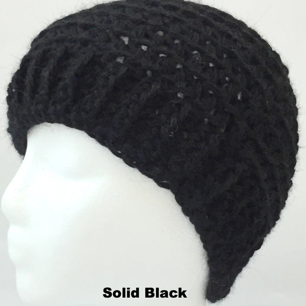 black wool hat for men and women