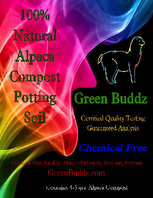 Alpaca Compost Fertilizing Potting Soil - Alpacas of Montana