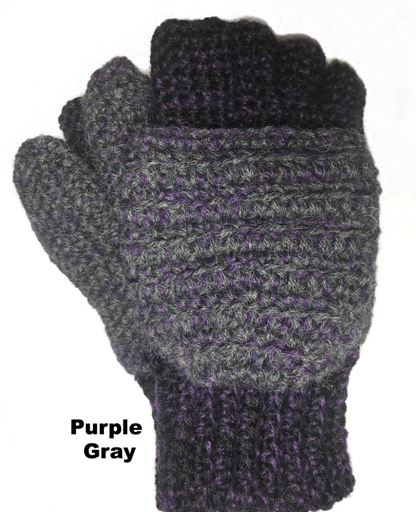 b58554514 ... Heavyweight Convertible Alpaca Gloves / Mittens - Alpacas of Montana ...