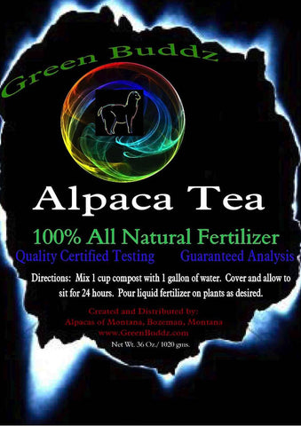100% Alpaca Compost & Fertilizing Tea - Alpacas of Montana