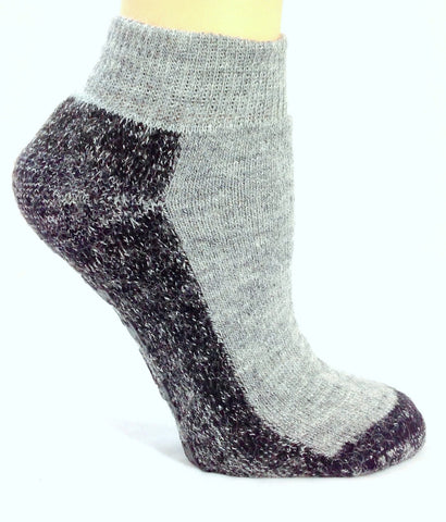 Alpaca Gripping Slipper Socks - Great Hospital & Hard Floor Socks - Alpacas of Montana