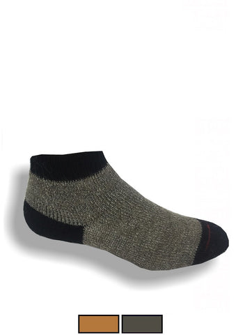 Warm, Low Cut Alpaca Bootie Socks - For Men & Women - Great Slipper Socks - Alpacas of Montana
