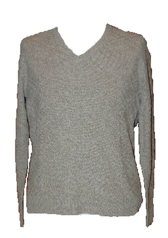 Men's Alpaca V-Neck Pullover Sweater