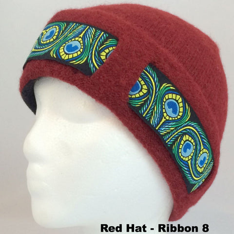 Kids / Youth Lined Hat with Ribbon - Alpacas of Montana