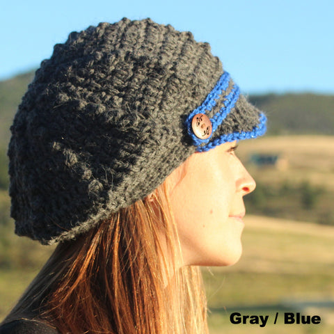Alpaca Brimmed Slouch Hat - Custom Made Alpaca Hats