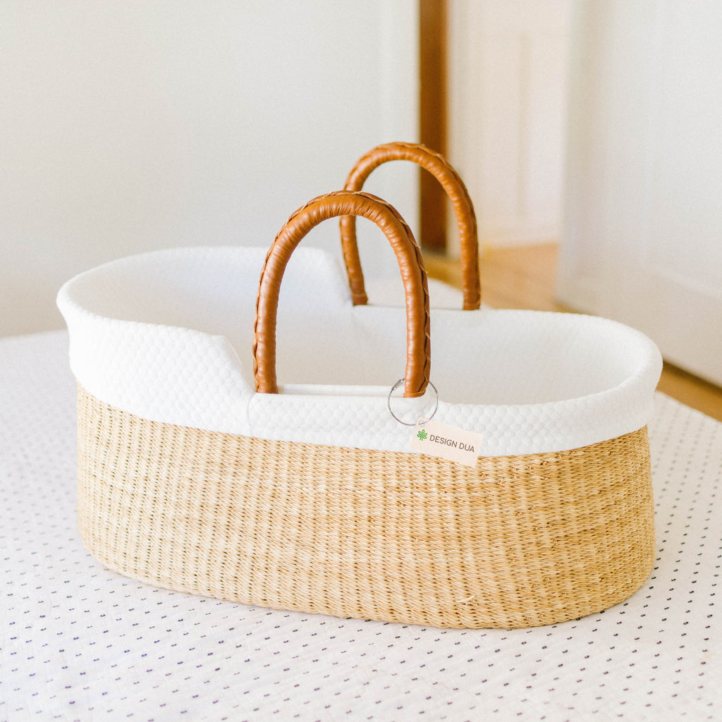 Signature Bilia Bassinet & Changing Basket Combo Special: Natural